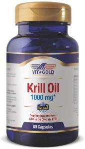 [PRIME] Óleo de Krill 1000 mg Vitgold 60 cápsulas | R$101,00