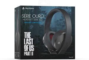 Headset Fio Série Ouro Ed limitada TLOU pt. 2