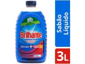 Sabão Líquido Brilhante 3L | R$13