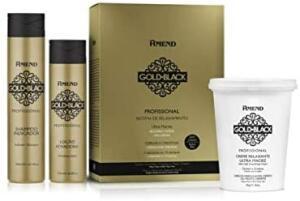 Amend - Sistema de Relaxamento Ultra Maciez Gold Black | R$63