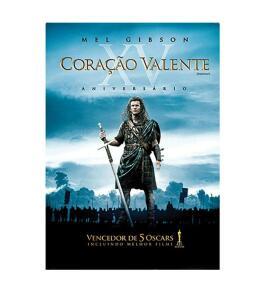 DVD Coração Valente | R$7