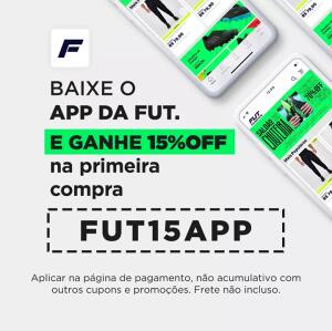 15%OFF pelo APP na FutFanatics
