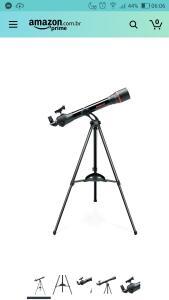 [Prime] Telescópio Tasco Spacestation | R$ 1341