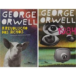 Kit Livros 1984 + A Revolução dos Bichos | R$40
