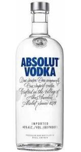 Vodka Absolut 1 litro | R$69
