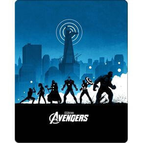 Steelbook - Avengers - Blu-ray R$20