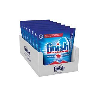 Tabletes Detergente Para Lava-Louças Finish Powerball, 91 Tabletes R$80