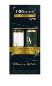Kit Shampoo e Condicionador Tresemmé Detox Capilar 400ml + 400ml