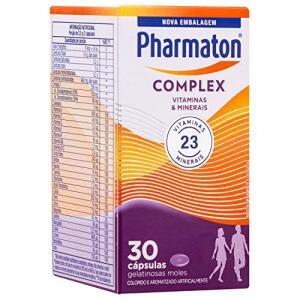 Multivitamínico Pharmaton Complex, 30 cápsulas - R$20