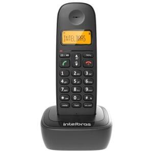 Telefone Sem Fio Intelbras TS 2510, Identificador de Chamadas, Preto