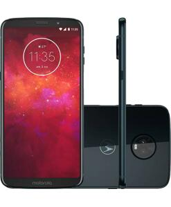 "Smartphone Motorola Moto Z3 Play Dual Chip Android Oreo - 8.0 Tela 6"" R$899"