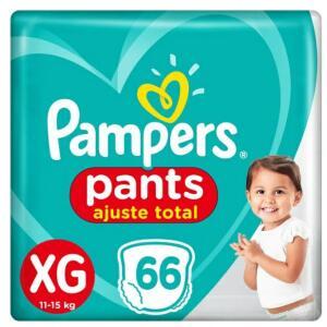 Fralda Pampers Pants Ajuste Total Giga Tamanho Xg