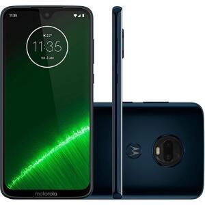 "Smartphone Motorola Moto G7 Plus 64GB Dual Chip Android Pie - 9.0 Tela 6.2"" 1.8 GHz Octa-Core 4G Câmera 16MP"