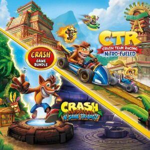 PS4 - Pacote Crash Bandicoot™ N. Sane Trilogy + CTR Nitro-Fueled | R$ 179