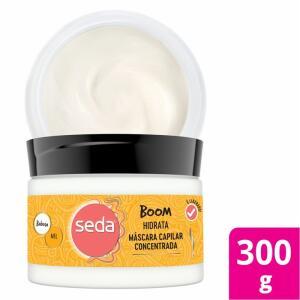Máscara Seda Boom Hidratação Com Babosa E Mel 300g | R$ 3,59