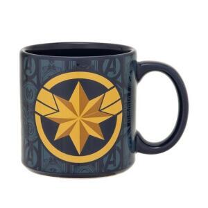 Caneca Vingadores Capitã Marvel 360 ml - Home Style | R$20