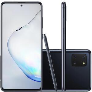 Celular Samsung Galaxy Note 10 Lite Preto 128GB Caneta S Pen Cam 12MP 12MP 12MP