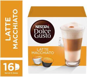 [PRIME] Nescafe Dolce Gusto, Latte Macchiato, 16 Cápsulas | R$17