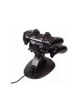 [AME 2,08]Carregador Controle PS4 Suporte Dock Vertical Playstation 4 + Cabo USB Frete grátis