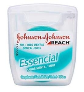 Fio Dental Essencial, 100m, Johnson & Johnson   R$ 6 [+5u.]