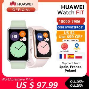 SmartWatch Huawei Watch Fit   R$552