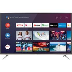 "Android Tv Led 50"" Semp Sk8300 4k Hdr Com Wifi Integrado, 3 Hdmi, 2 Usb Inteligência Artificial"