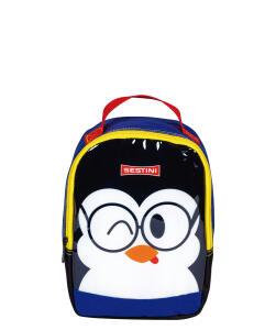 Lancheira Pequena Sestini Kids Basic Pinguim | R$ 15