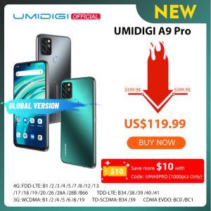 Smartphone UMIDIGI A9 Pro 6GB/128GB | R$750