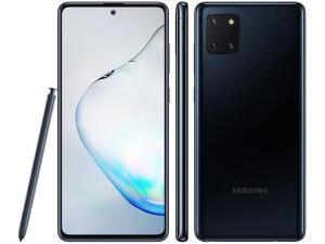 [ CLUBE DA LU + APP ] Smartphone Samsung Galaxy Note 10 Lite 128GB Preto