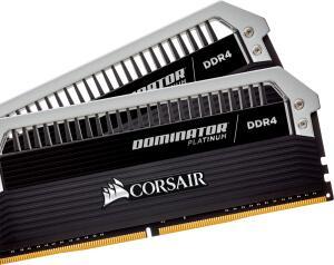 MEMORIA CORSAIR DOMINATOR PLATINUM 16GB (2X8) DDR4 3866MHZ CL18 LED BRANCO, CMD16GX4M2B3866C18