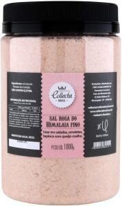 Sal Rosa do Himalaia Fino Collecta 1000g R$16,50