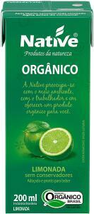 [PRIME] Limonada Orgânica Native 200ml | R$1,85