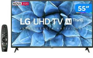 "Smart TV UHD 4K LED IPS 55"" LG 55UN7310PSC"