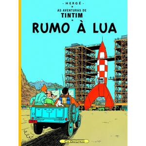 Livro - Tintim - Rumo à lua | R$28