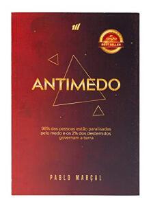 Livro ANTIMEDO – Pablo Marçal | R$132