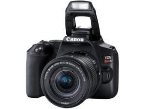 Câmera Digital Canon DSLR Semiprofissional - 24,1MP EOS Rebel SL3 | R$2.924