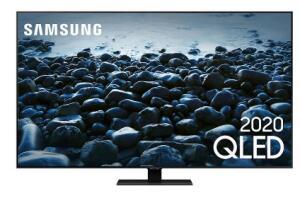 """Samsung Smart TV 55"""" QLED 4K Q80T, Pontos Quânticos, Modo Game 120hz e HDMI 2.1, Som em Movimento, Alexa"""