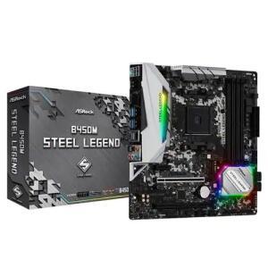 Placa mãe B450M Steel legend Am4 | R$ 764