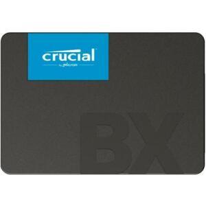SSD Crucial BX500, 480GB, SATA, Leitura 540MB/s   R$390