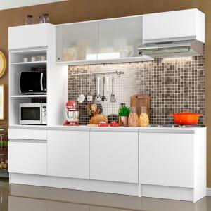 [R$744 AME] Cozinha Completa Compacta Madesa Topazio | R$930