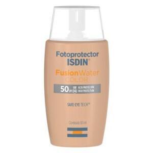 Protetor Solar Facial Isdin - Fotoprotector Fusion Water Color FPS 50+   R$73