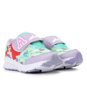 Tênis Infantil Disney Ariel Com Fecho De Contato   R$ 31