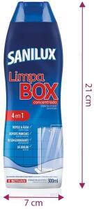 [2 Unidades] Limpa Box Concentradol Sanilux Limpa Box Branco 300ml   R$ 16