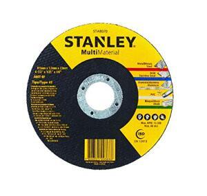 "(PRIME) STANLEY Disco Abrasivo Corte Multi Material 4 1/2"""
