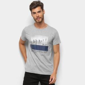 04 camisetas masculinas por R$100 | Zattini