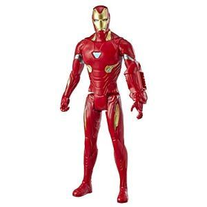Boneco Titan Hero 2.0 Homem de Ferro, Avengers, Vermelho/Amarelo