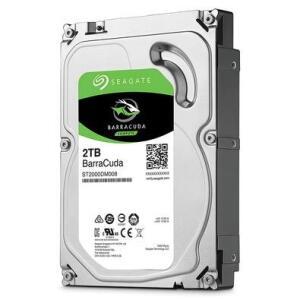 HD Seagate BarraCuda, 2TB, 3.5´, SATA