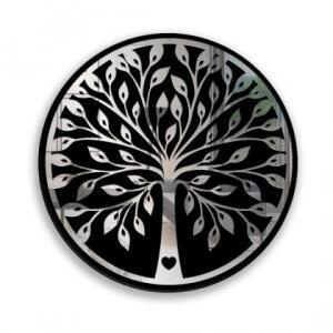 Quadro com Espelho Árvore Love | R$218