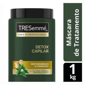 Creme De Tratamento TRESemmé Detox - 1kg | R$20
