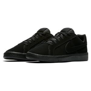 Tênis Infantil Couro Nike Court Royale - Preto   R$ 95